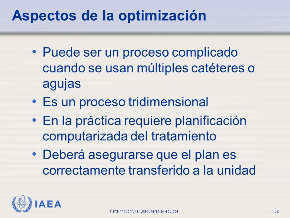 Aspectos de la optimización