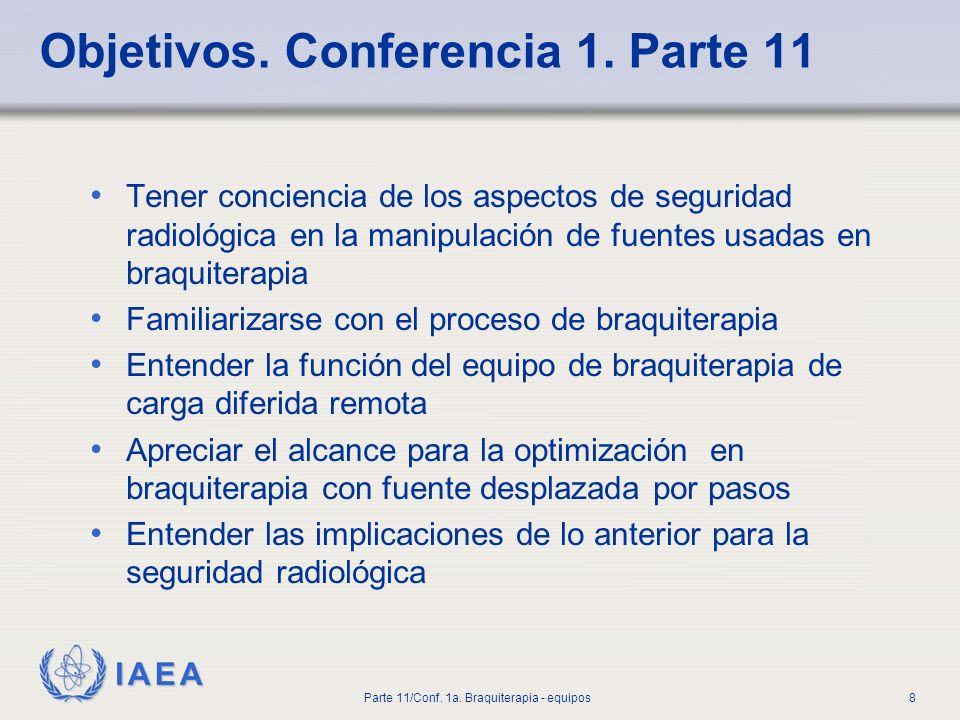 Objetivos. Conferencia 1. Parte 11