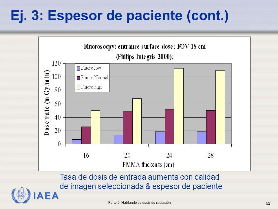 Ej. 3: Espesor de paciente (cont.)