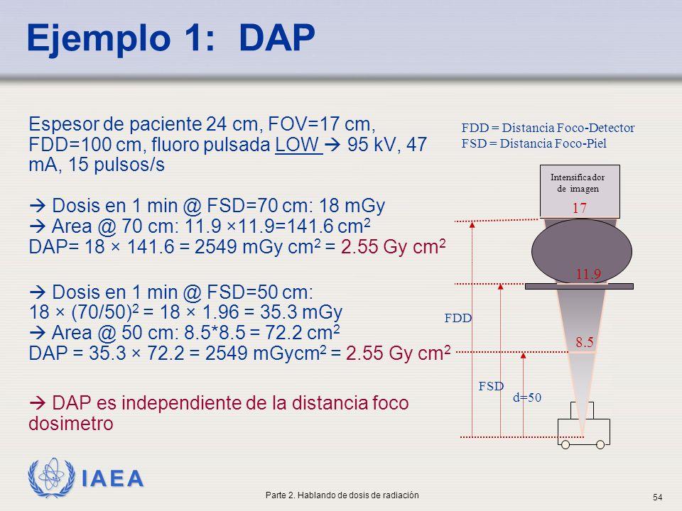 Ejemplo 1: DAP