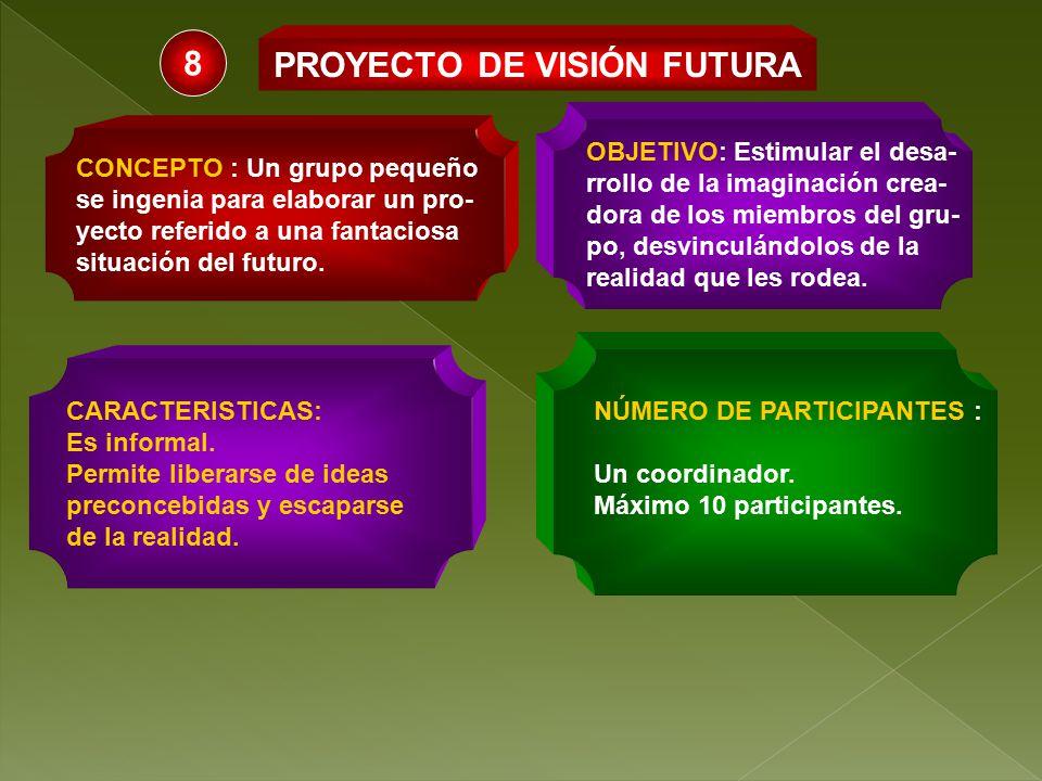 PROYECTO DE VISIÓN FUTURA