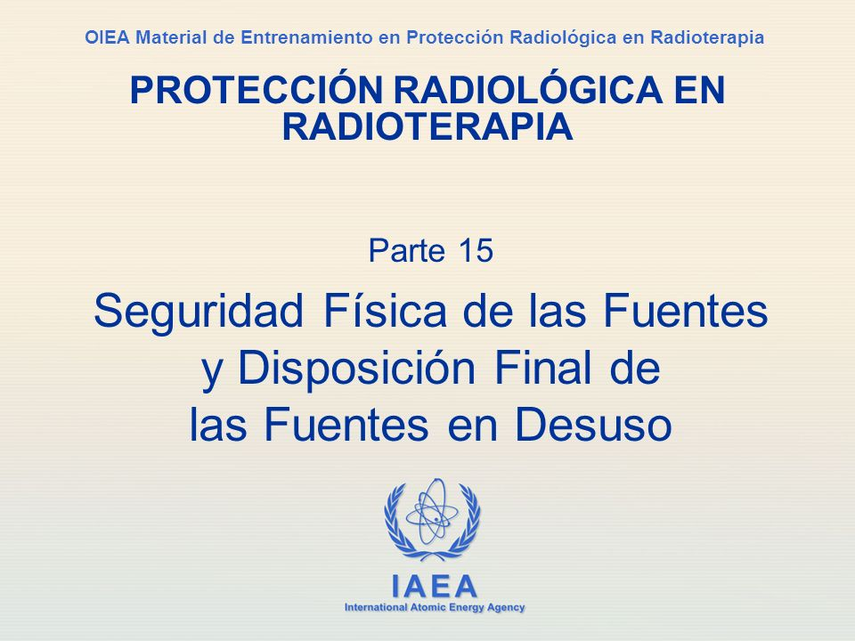 PROTECCIÓN RADIOLÓGICA EN RADIOTERAPIA