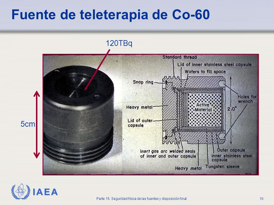Fuente de teleterapia de Co-60