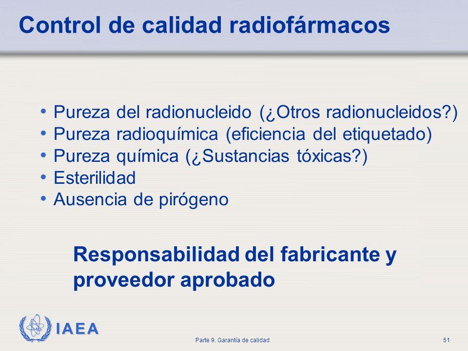 Control de calidad radiofármacos