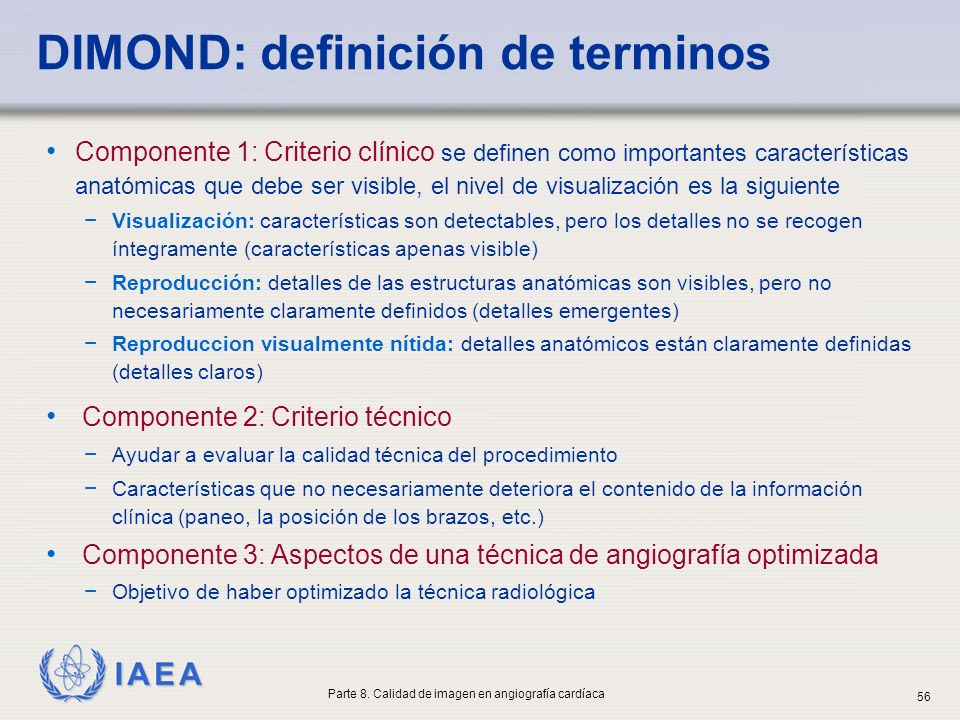 DIMOND: definición de terminos