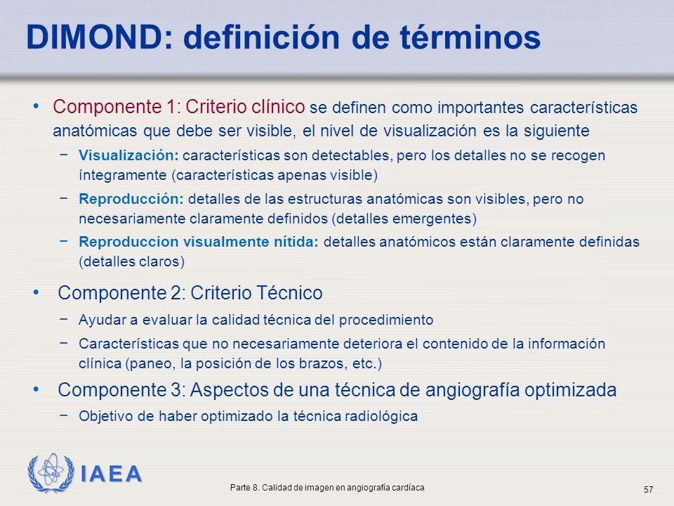 DIMOND: definición de términos