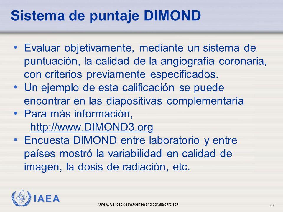 Sistema de puntaje DIMOND