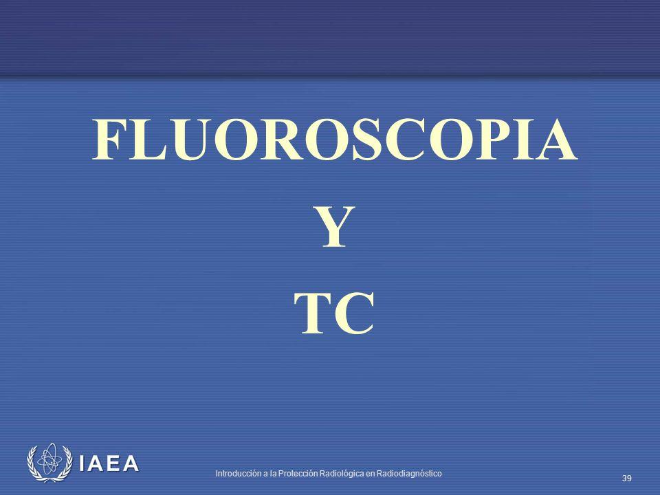 FLUOROSCOPIA Y TC