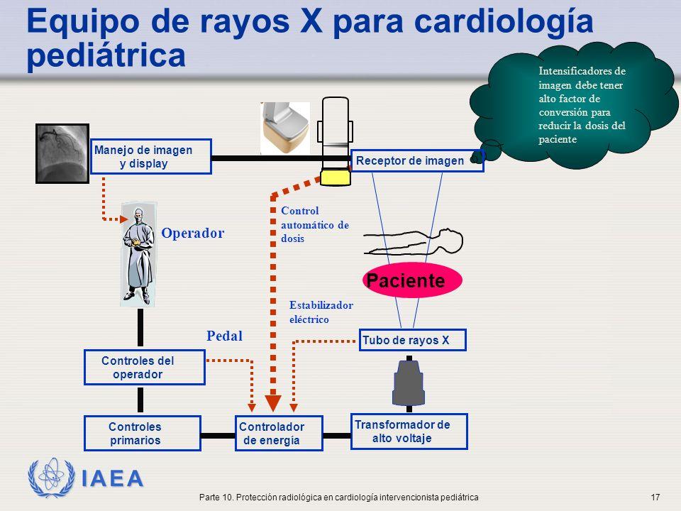 Equipo de rayos X para cardiología pediátrica