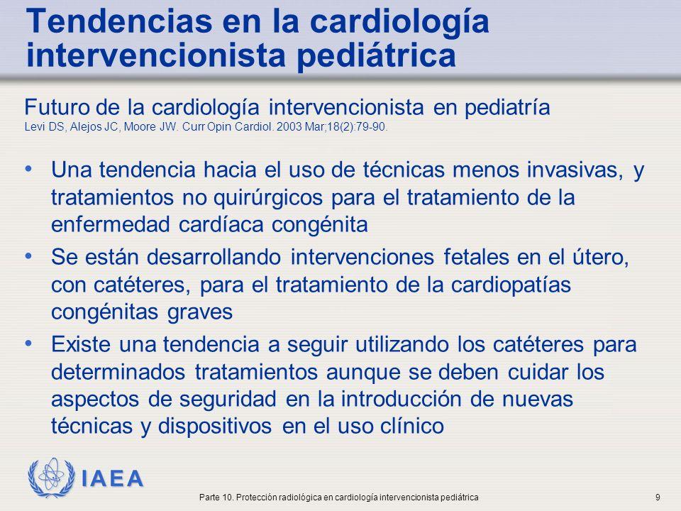 Tendencias en la cardiología intervencionista pediátrica