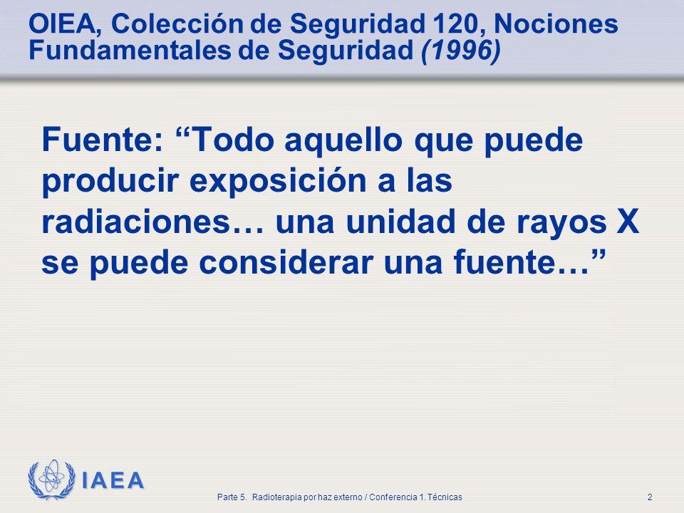 OIEA, Colección de Seguridad 120, Nociones Fundamentales de Seguridad (1996)