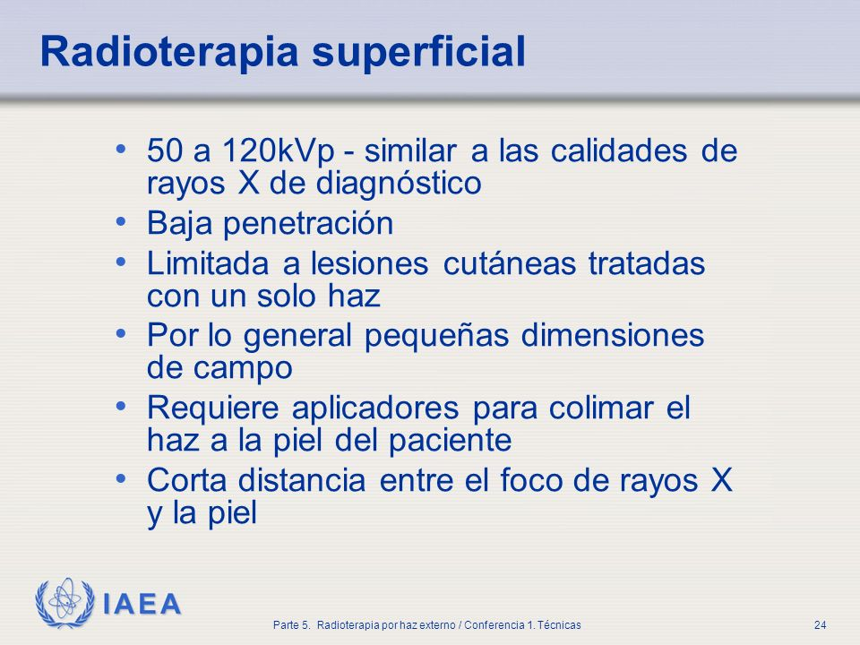 Radioterapia superficial