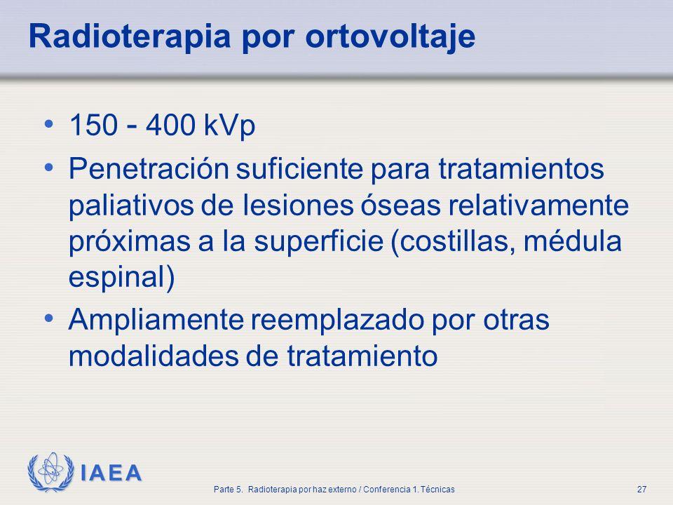 Radioterapia por ortovoltaje