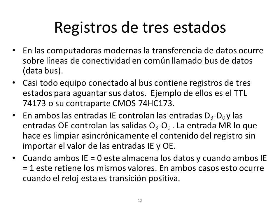 Registros de tres estados