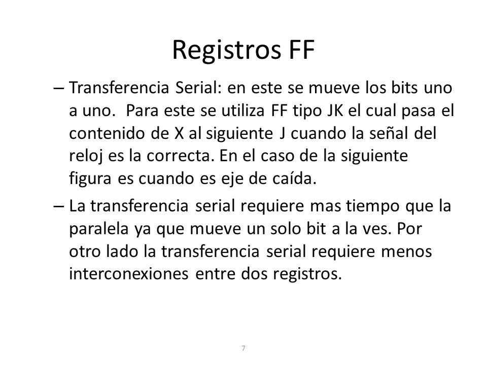 Registros FF