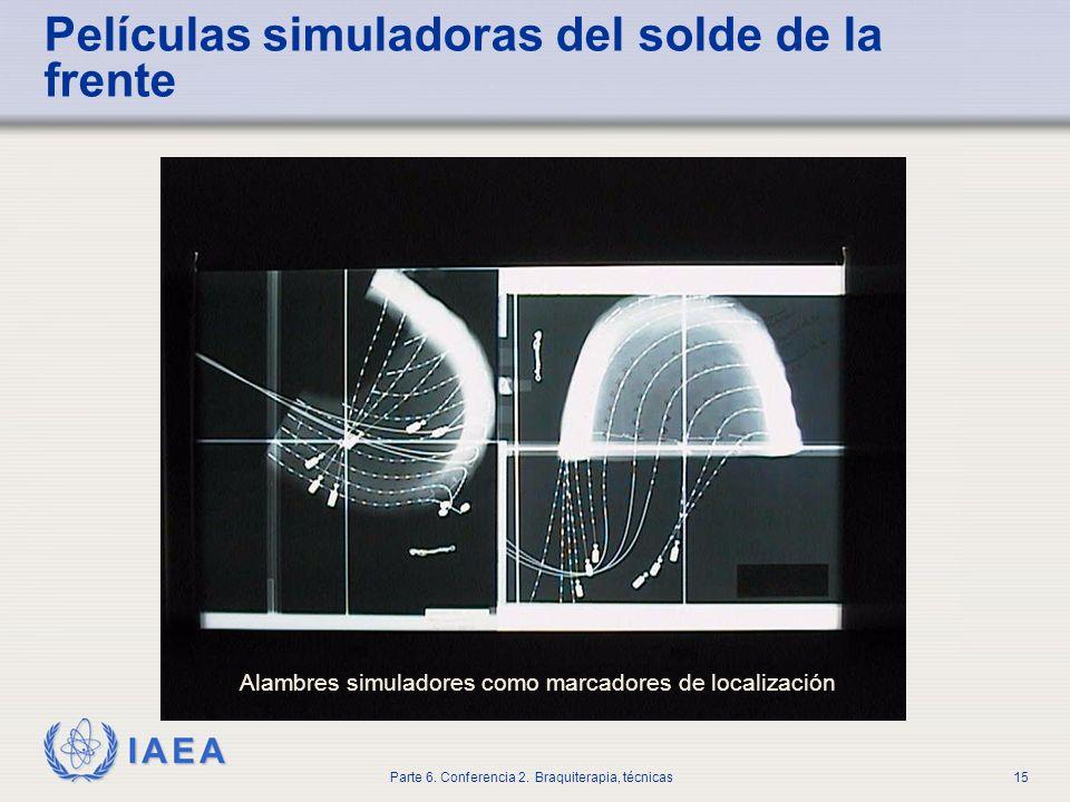 Películas simuladoras del solde de la frente