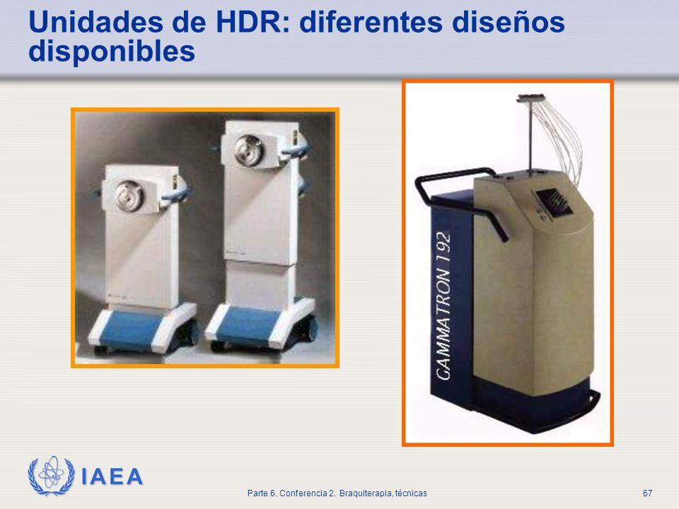 Unidades de HDR: diferentes diseños disponibles