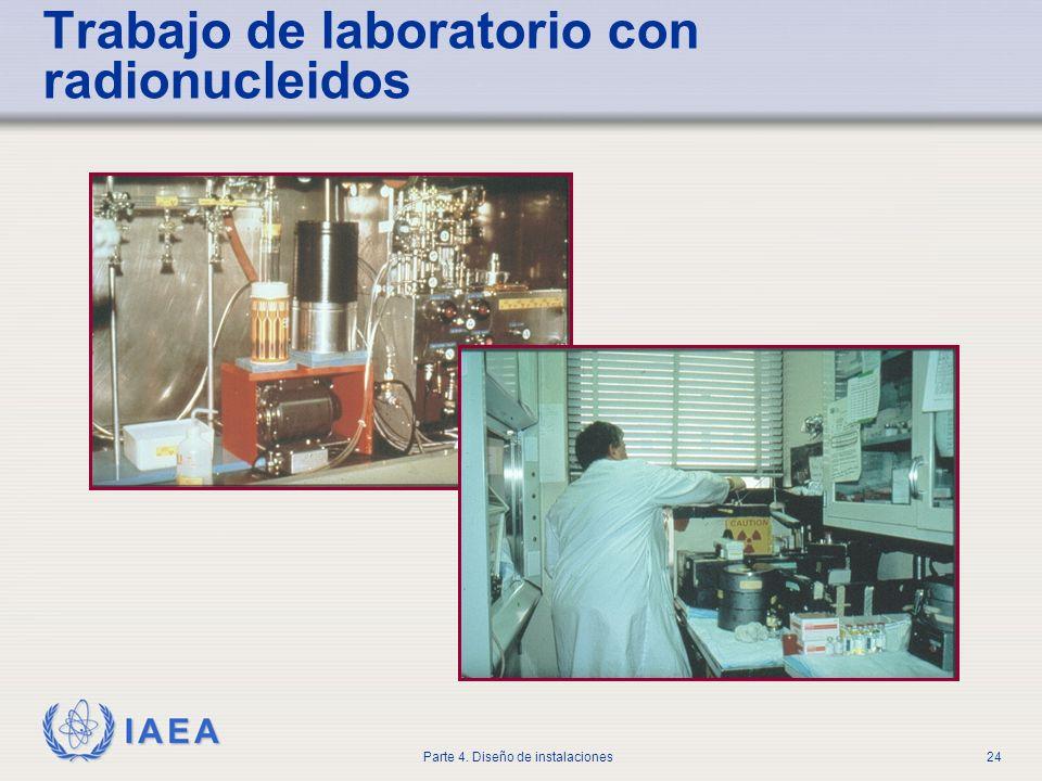 Trabajo de laboratorio con radionucleidos
