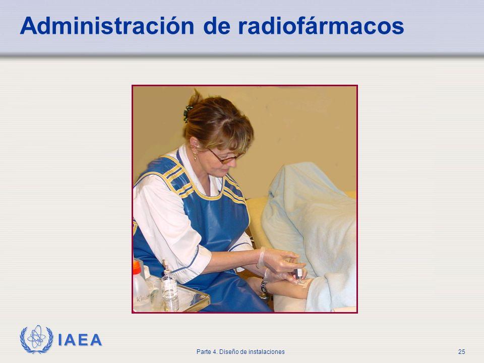 Administración de radiofármacos