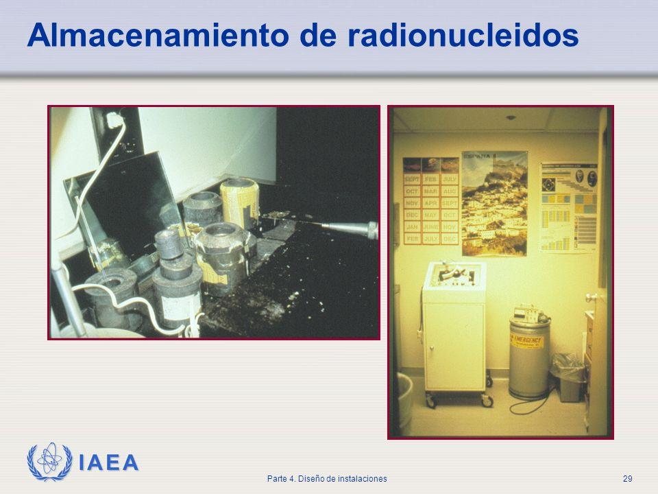 Almacenamiento de radionucleidos