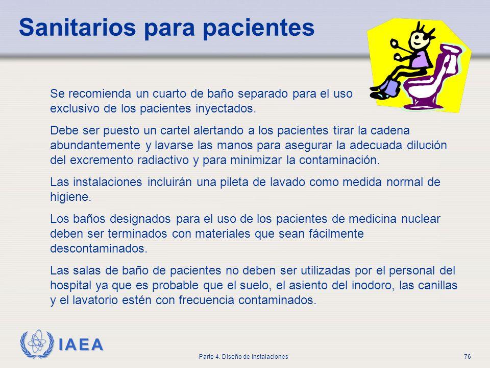 Sanitarios para pacientes