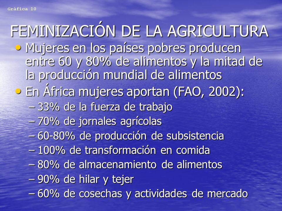 FEMINIZACIÓN DE LA AGRICULTURA