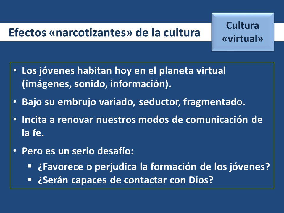Efectos «narcotizantes» de la cultura