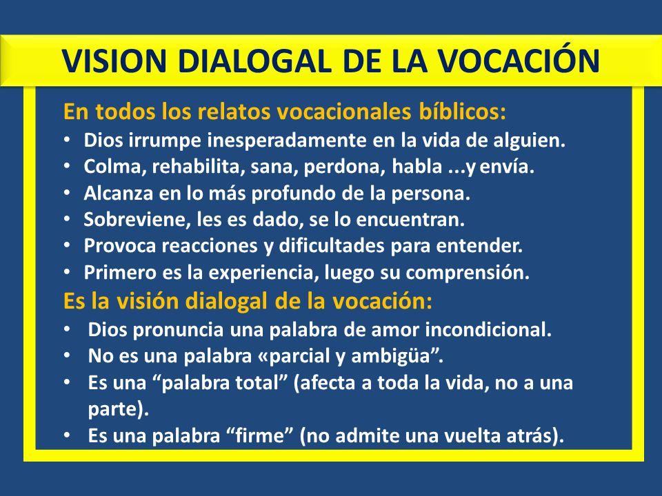 VISION DIALOGAL DE LA VOCACIÓN