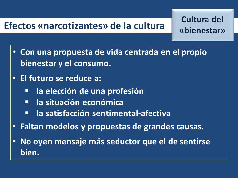 Cultura del «bienestar»