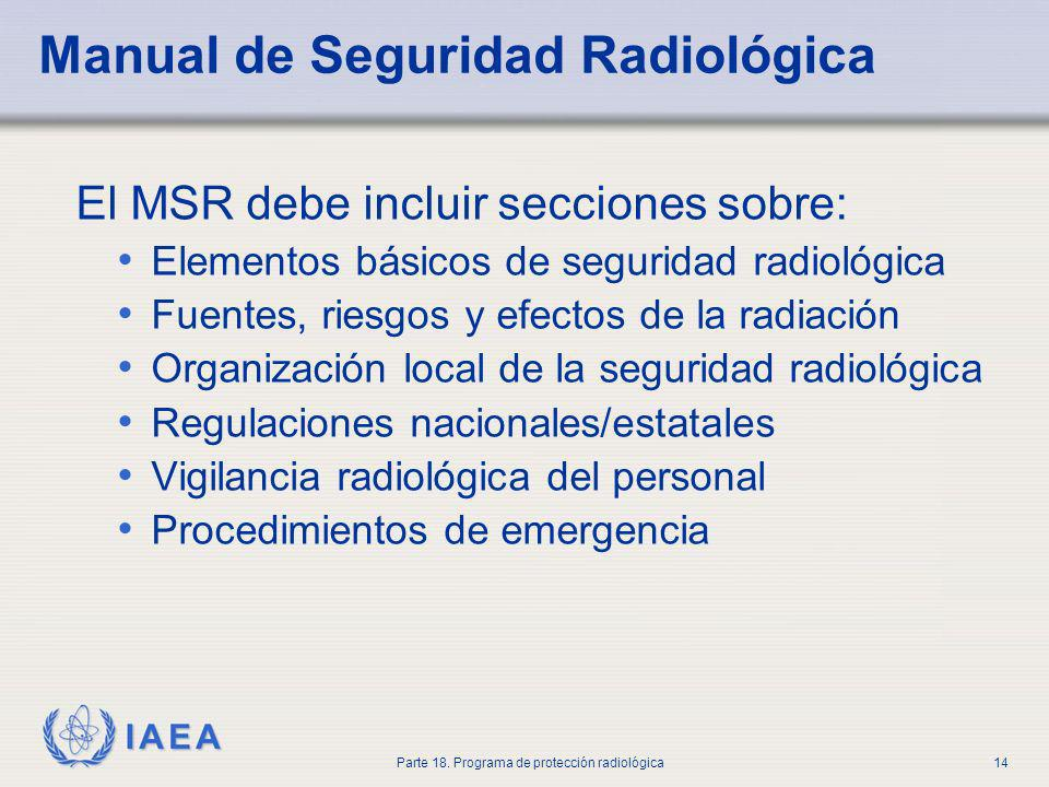 Manual de Seguridad Radiológica