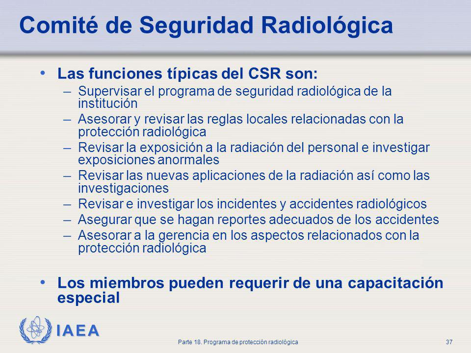 Comité de Seguridad Radiológica