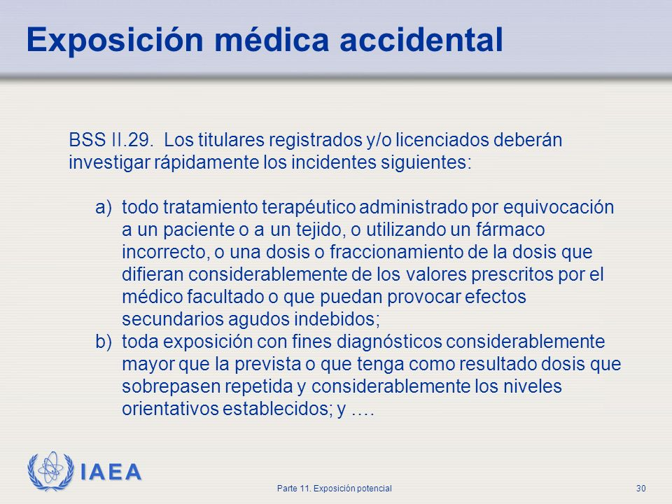 Exposición médica accidental