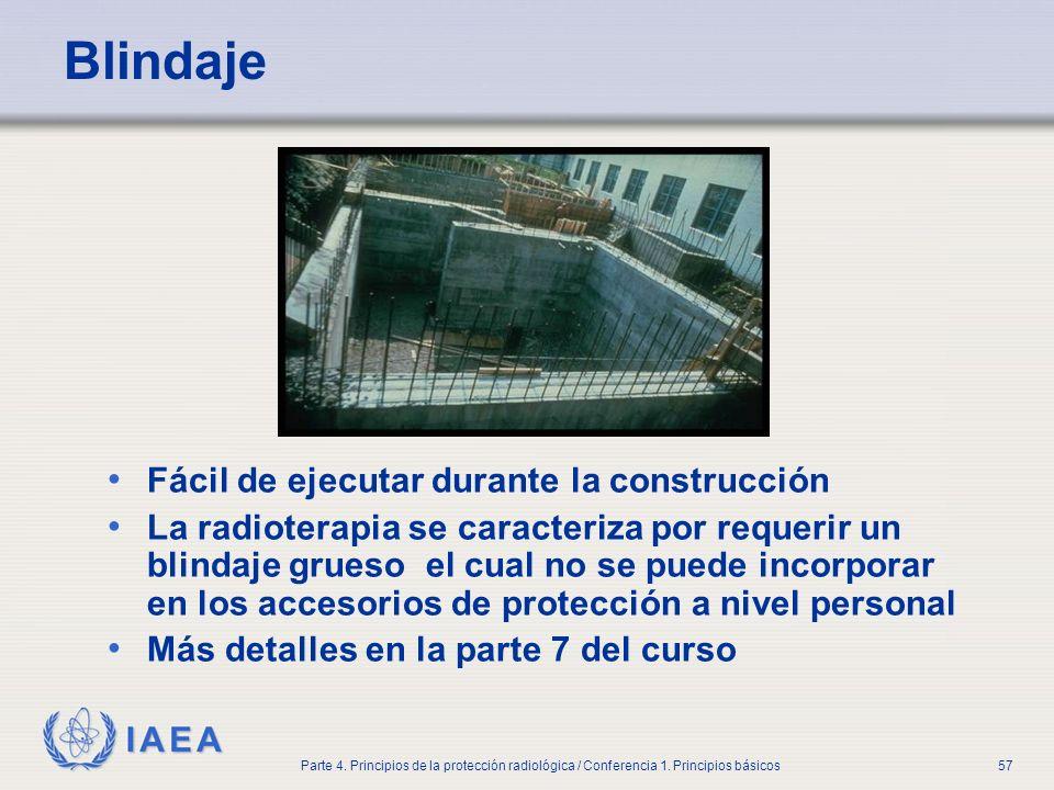 Blindaje Fácil de ejecutar durante la construcción
