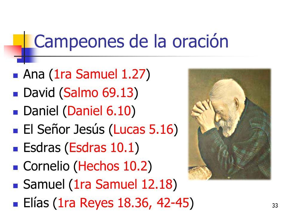 Campeones de la oración