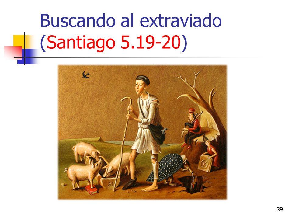 Buscando al extraviado (Santiago 5.19-20)