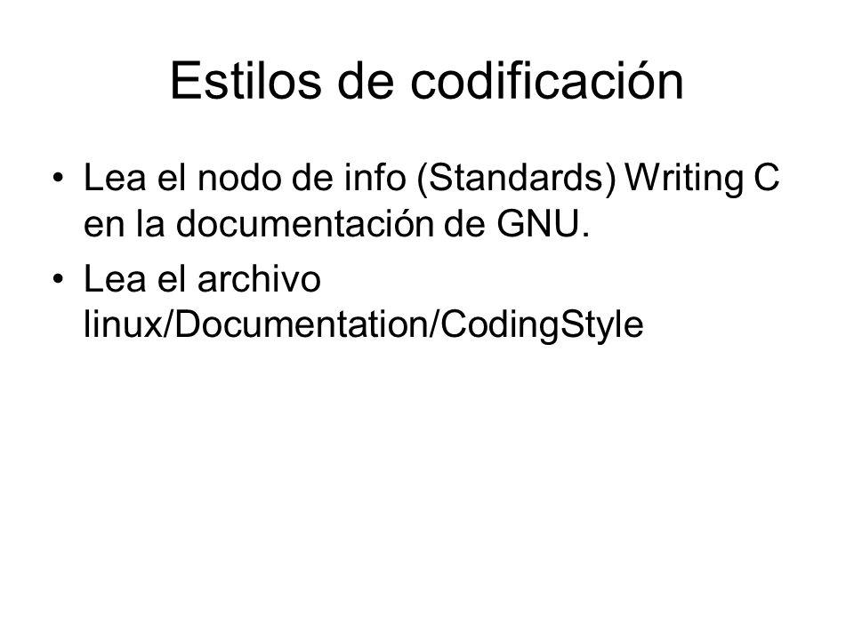 Estilos de codificación