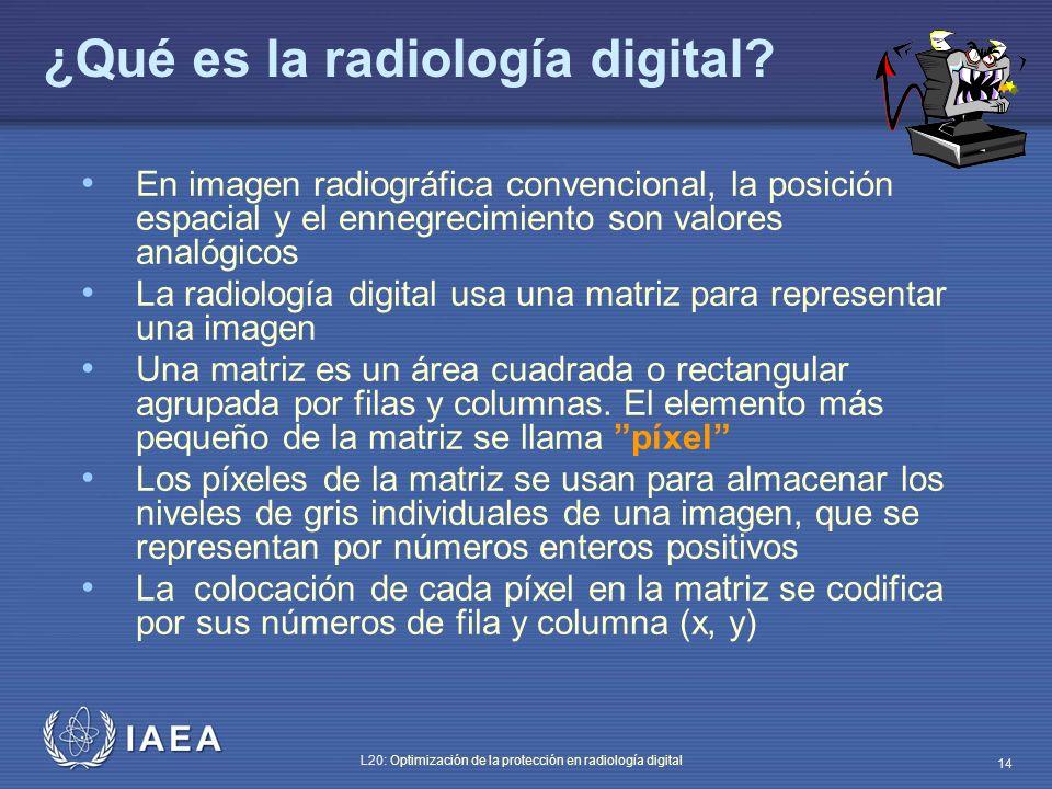 ¿Qué es la radiología digital