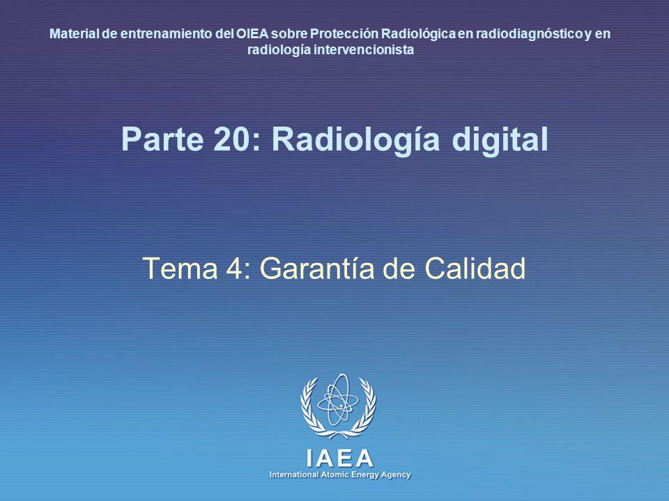 Parte 20: Radiología digital