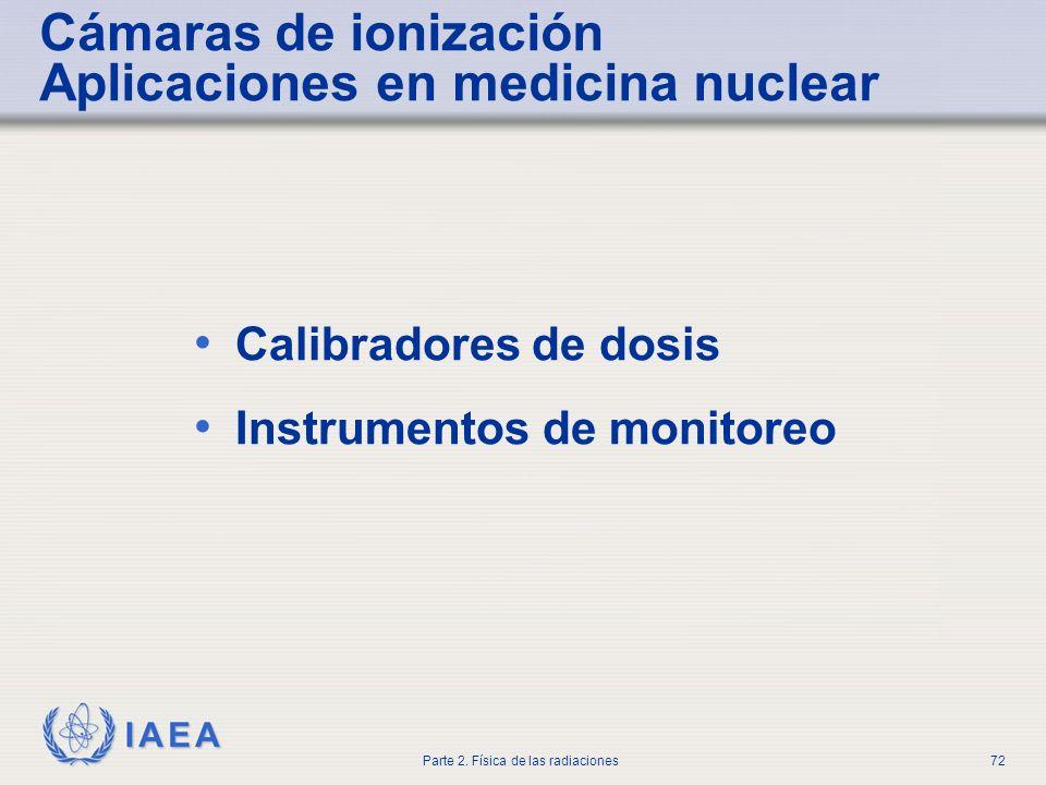 Cámaras de ionización Aplicaciones en medicina nuclear