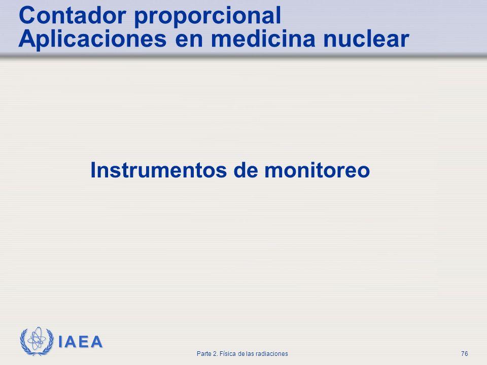 Contador proporcional Aplicaciones en medicina nuclear