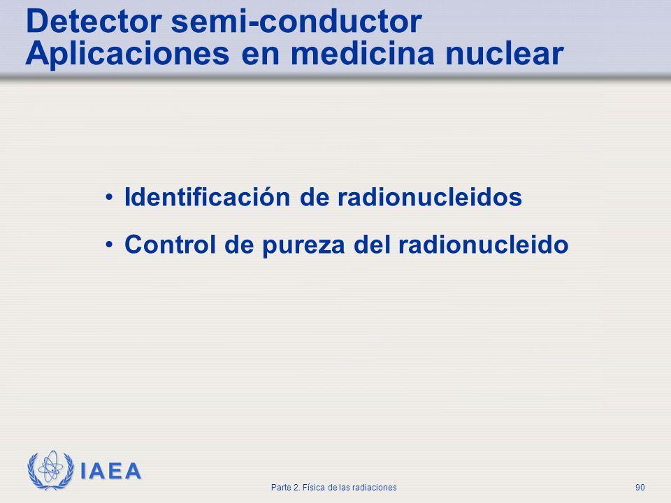 Detector semi-conductor Aplicaciones en medicina nuclear