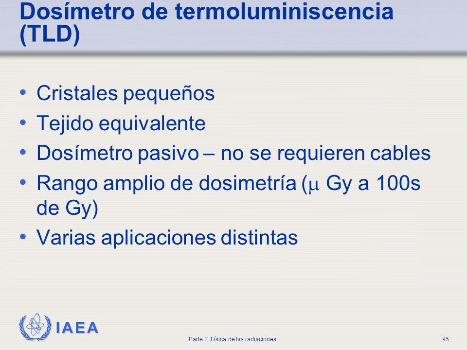 Dosímetro de termoluminiscencia (TLD)