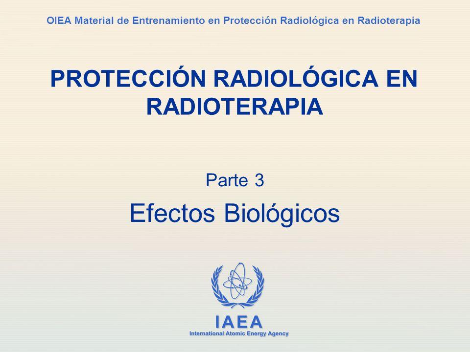 Parte No 3, Conferencia No 1 Parte 3 Efectos Biológicos