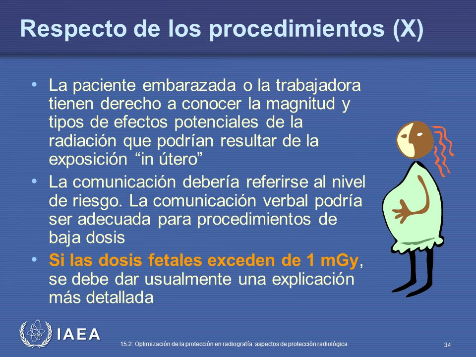 Respecto de los procedimientos (X)