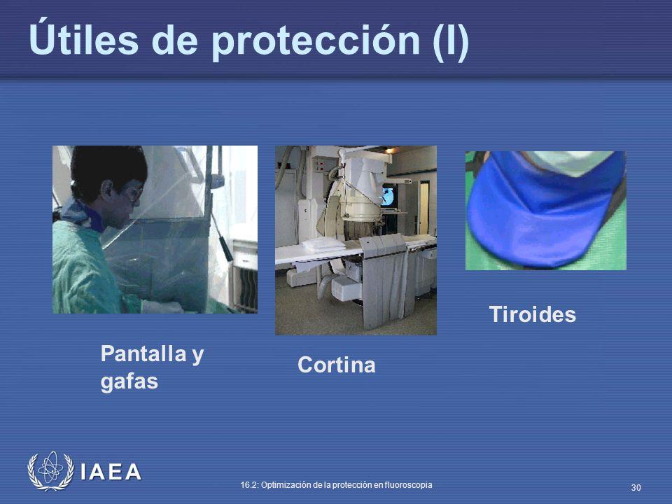 Útiles de protección (I)