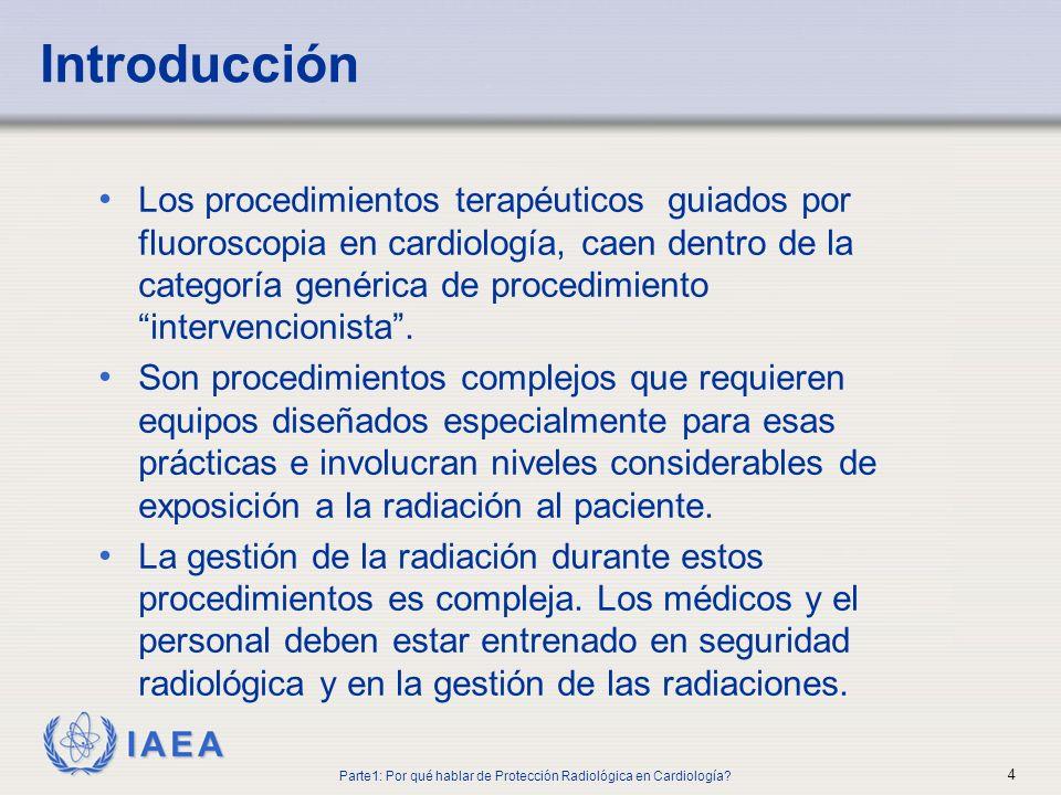 Parte1: Por qué hablar de Protección Radiológica en Cardiología
