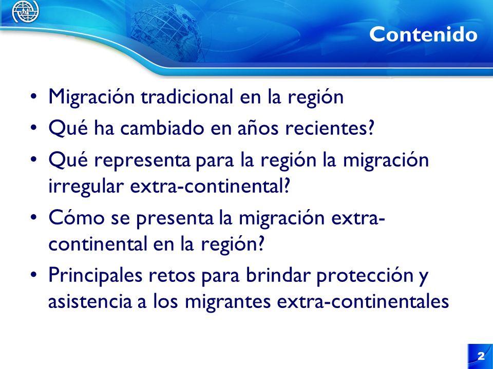 Migración tradicional en la región Qué ha cambiado en años recientes