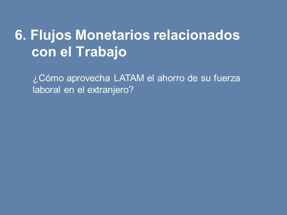 6. Flujos Monetarios relacionados con el Trabajo