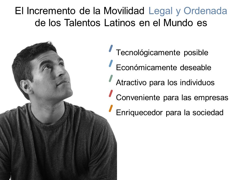 El Incremento de la Movilidad Legal y Ordenada
