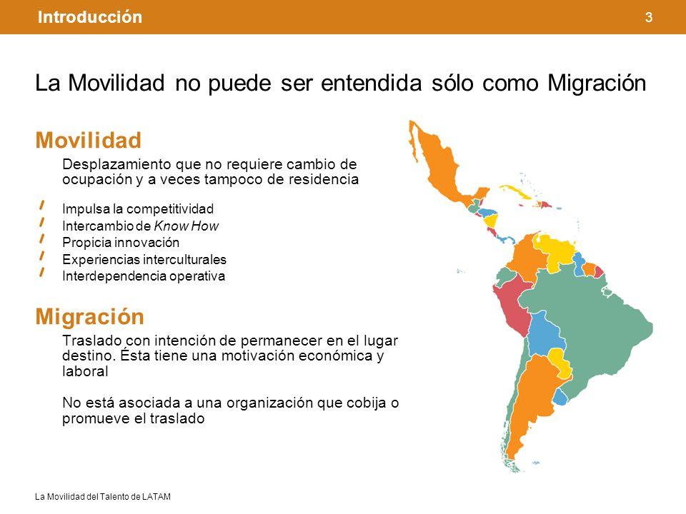 La Movilidad no puede ser entendida sólo como Migración